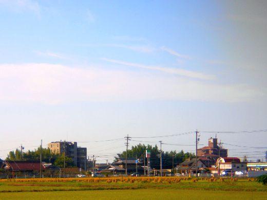 マンションの見える風景